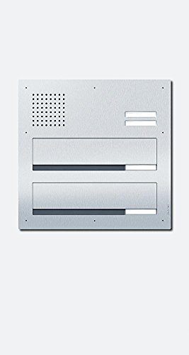 Siedle + Söhne Durchwurfbriefkasten Audio CL BD3A 02 N 02 Classic, eds, 2 WE Classic 4015739430529