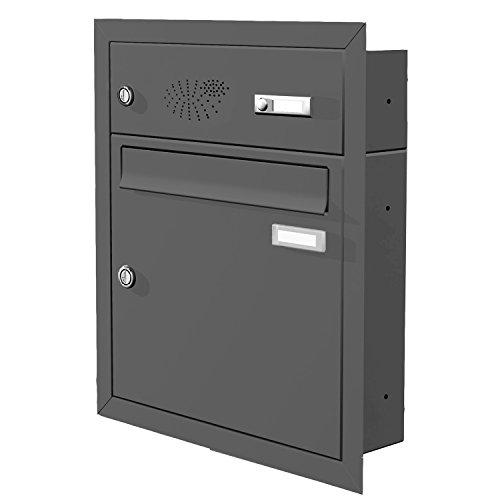 max knobloch briefkasten unterputz freistehend. Black Bedroom Furniture Sets. Home Design Ideas