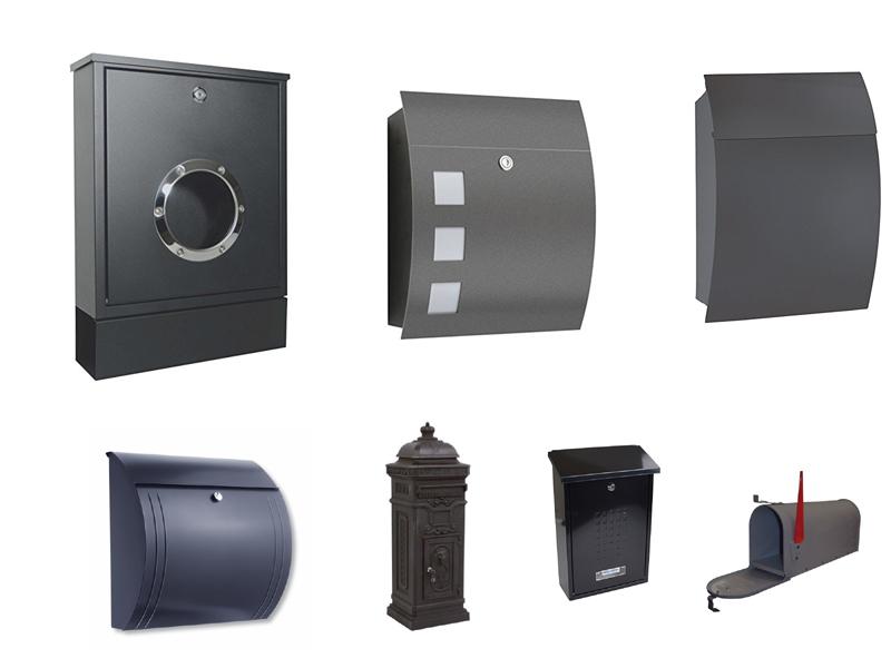 briefkasten anthrazit. Black Bedroom Furniture Sets. Home Design Ideas