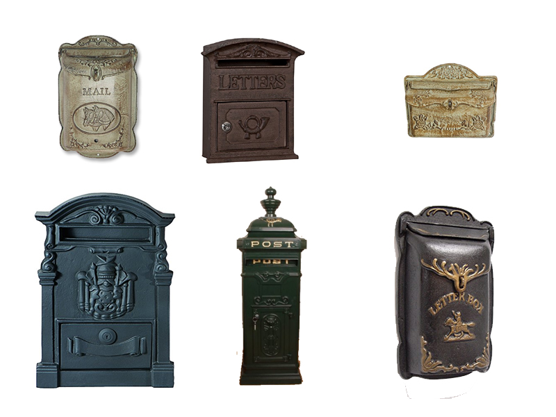 Gusseisen Briefkasten