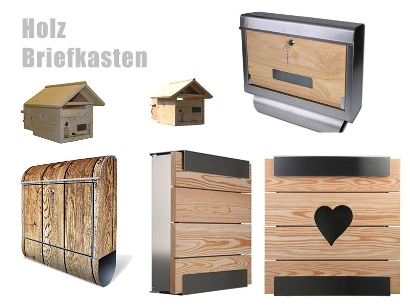Holz Briefkasten