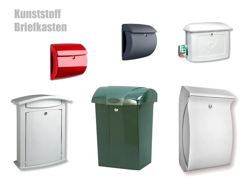 Kunststoff Briefkasten